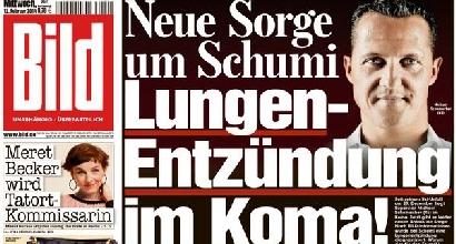 Bild: ipotesi polmonite per Michael Schumacher