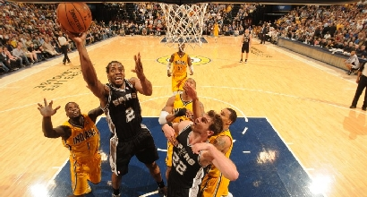 San Antonio vs Indiana. Foto Afp