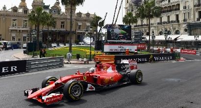 F1, GP Monaco: Vettel davanti nelle terze libere
