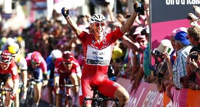 Giro 2016, 3a tappa: capolavoro Kittel, bis e maglia rosa