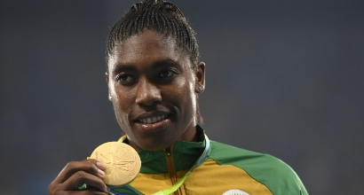 Semenya, foto AFP