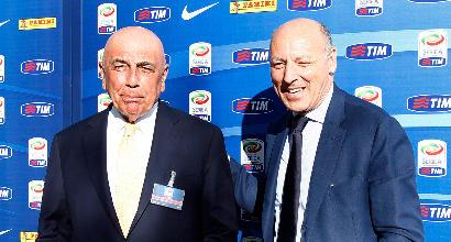 Galliani e Marotta, la pace è sancita in Lega