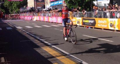Giro d'Italia, gaffe di Pibernick