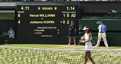Tennis, Wimbledon: la finale sarà Muguruza-Williams