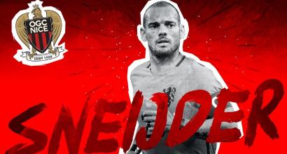 Nizza, Sneijder si prende il n. 10