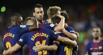 Liga: esordio vincente per Barcellona e Real Madrid