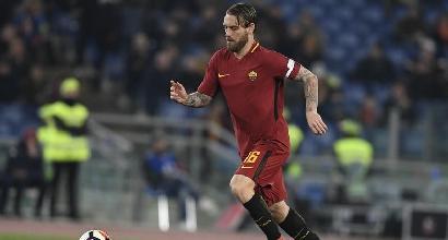 Serie A, Giudice Sportivo: 7 squalificati, anche De Rossi. Multa per l'Inter