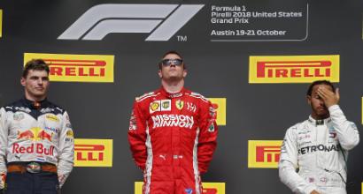 F1 Stati Uniti, Raikkonen: