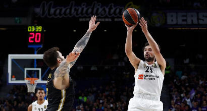 Eurolega: Milano bella a metà a Madrid, il Real vince 92-89