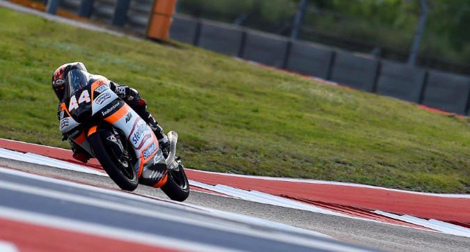 Moto3, Canet vince ad Austin