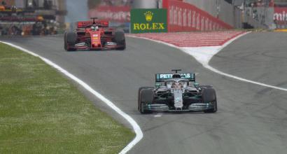Dominio Mercedes anche in Spagna, le Ferrari fuori dal podio