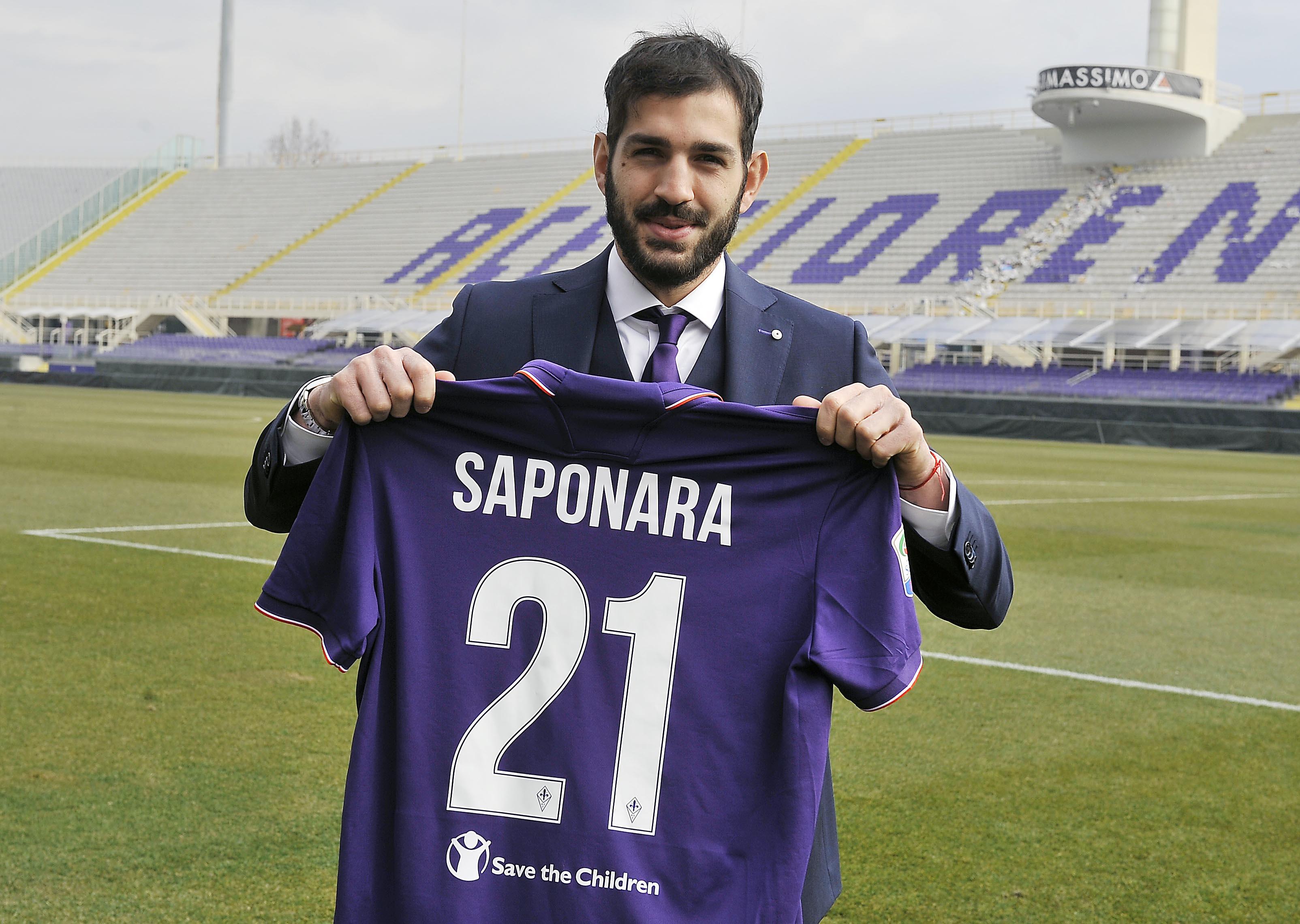 Fiorentina, la presentazione di Saponara