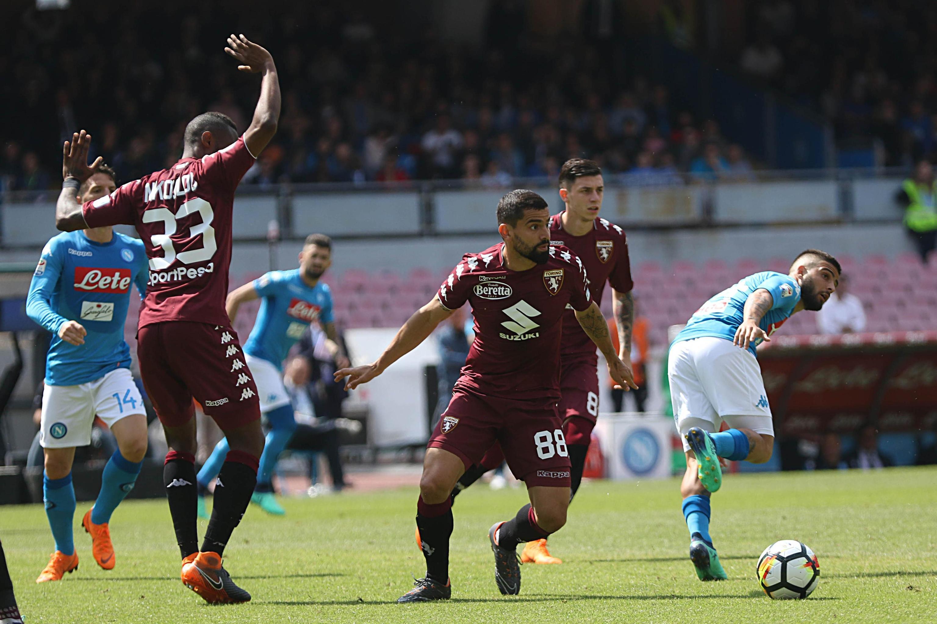 Serie A, Napoli-Torino 2-2: gli azzurri dicono addio allo scudetto