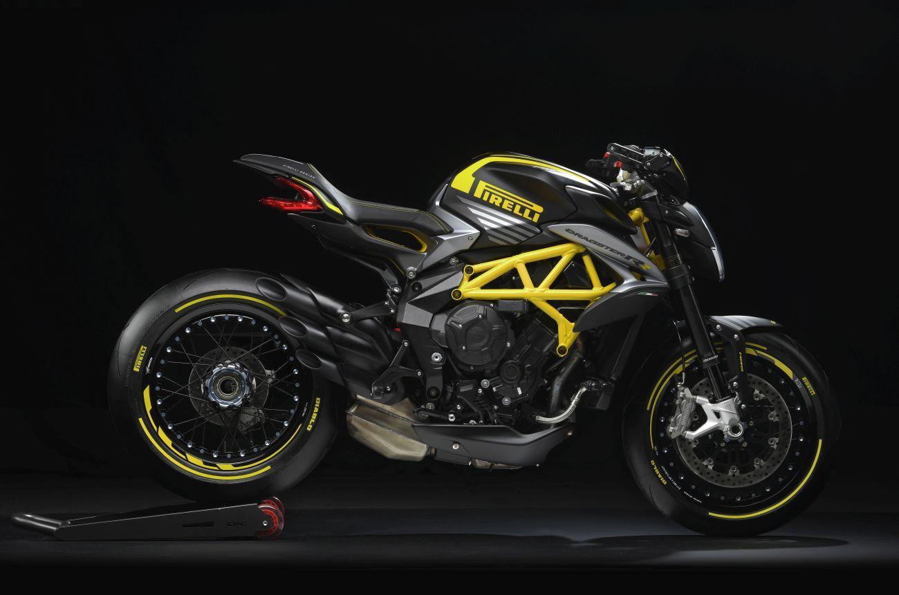 MV Agusta e Pirelli insieme per la Dragster 800 RR