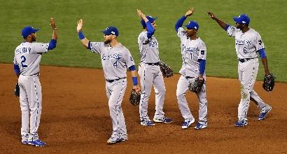 Mlb, World Series: Giants ko, sorpasso Royals