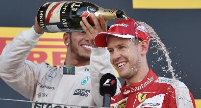 """F1, Vettel: """"Forse potevo fare secondo, ma sono contento"""""""