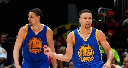 Nba: Golden State fa 50, tonfo Cleveland