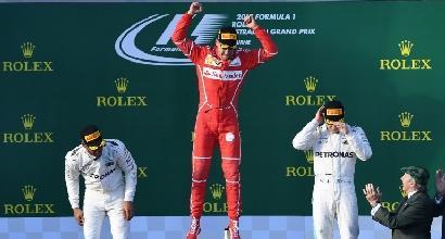 """F1, Vettel ci crede: """"La Ferrari ci permette di competere quest'anno"""""""