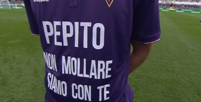 Fiorentina, una maglia per Pepito Rossi