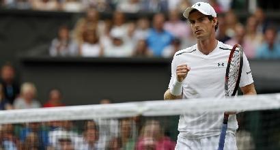Wimbledon: volano Rafa Nadal e Andy Murray