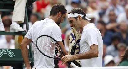 Federer-Cilic (Afp)