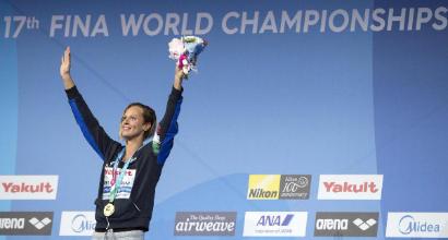 Nuoto: strepitosa Pellegini al Mondiale di Budapest. Magnini dice addio e si ritira