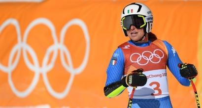 """Olimpiadi Pyeongchang: Schnarf """"Così fa male..."""". Goggia """"Che peccato"""""""
