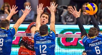 Volley, Superlega: Perugia ko, Lube e Modena in semifinale