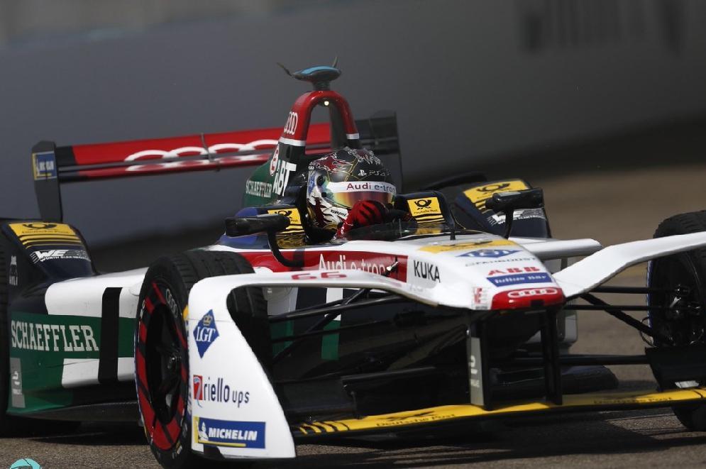 Formula E: a Berlino festa Audi con Abt e Di Grassi