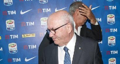 """Italia, Tavecchio replica a Ventura: """"Ha detto solo falsità, non si è mai dimesso!"""""""