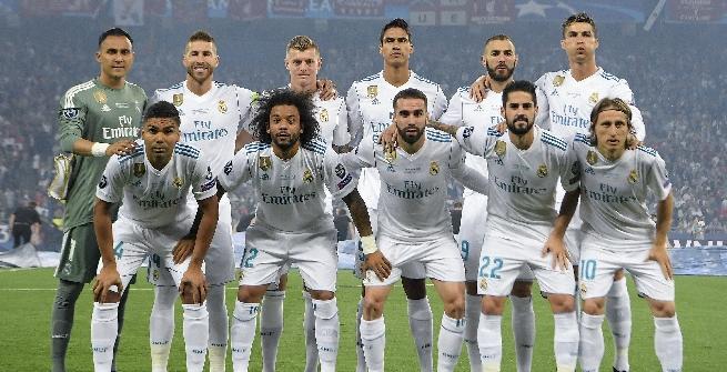 IL REAL MADRID A KIEV NEL 2018