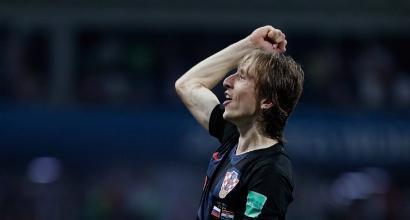 """Mondiali 2018: Croazia, Modric """"Che carattere, godiamoci la semifinale"""""""