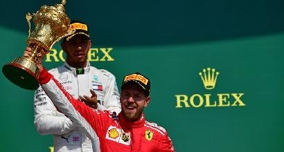 F1, le pagelle di Silverstone: Vettel, un colpo di tacco da 9. Per Hamilton una rimonta che vale mezzo punto in meno
