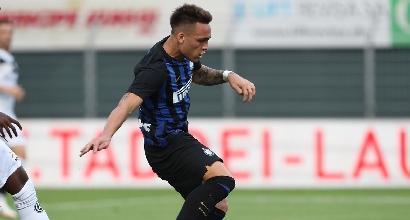 Inter, Lautaro in gol al debutto