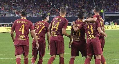 Roma in seconda fascia di Champions