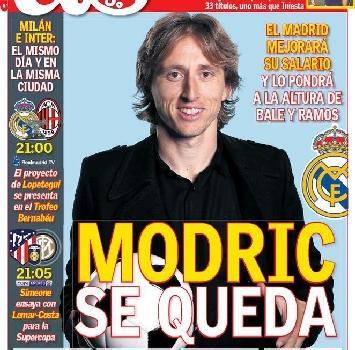 Modric costretto a restare al Real Madrid: Perez non soddisfatto dall'offerta dell'Inter