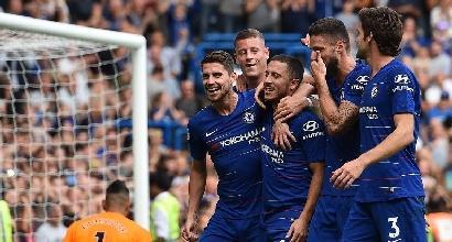 Premier, il Chelsea ancora a punteggio pieno. Il City non sbanda, Mourinho respira