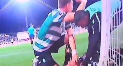 Sporting Lisbona, Coates eroe in campo: salva la vita al suo portiere