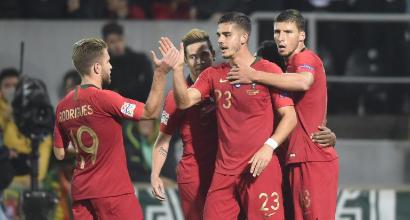 Nations League: Milik risponde ad André Silva, Portogallo-Polonia 1-1