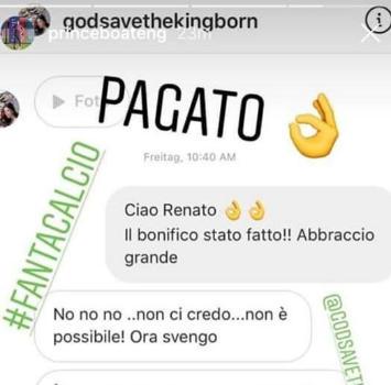 Barcellona, Boateng rimborsa il fanta-allenatore deluso