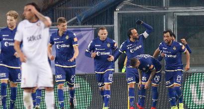 Serie B: zampata di Pazzini, il Verona piega la Salernitana 1-0
