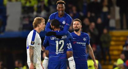 Europa League: tris Chelsea alla Dinamo Kiev, Valencia di misura