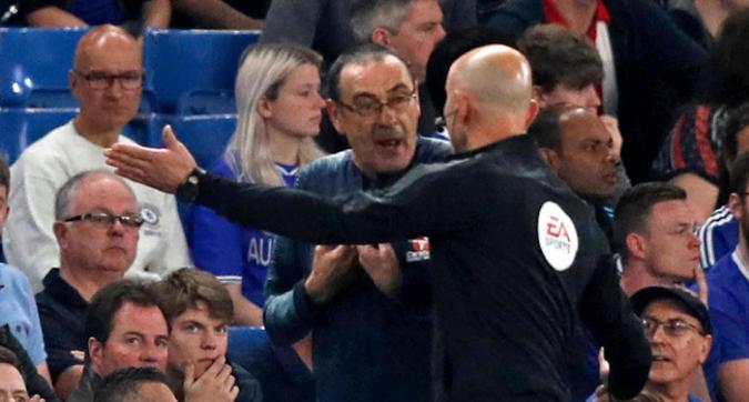 """Chelsea, Sarri insultato dalla panchina del Burnley: """"Italiano di m...a"""""""