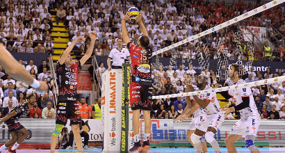 Foto Twitter Sir Safety Perugia Volley