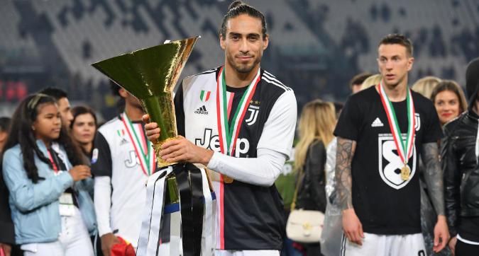 """Juventus, Caceres saluta: """"Non vi dimenticherò mai"""""""
