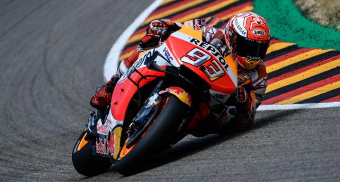 MotoGP, Marquez in pole in Germania