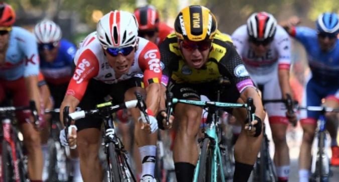 Tour de France: si sblocca Caleb Ewan, Ciccone cade e sprofonda in classifica