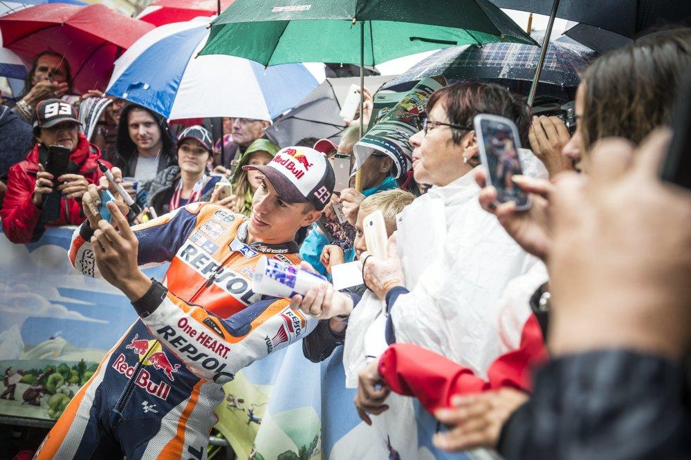 MotoGP, parata a Graz pe ril GP d'Austria