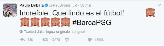 Impresa Barcellona: gli sportivi impazziscono su Twitter