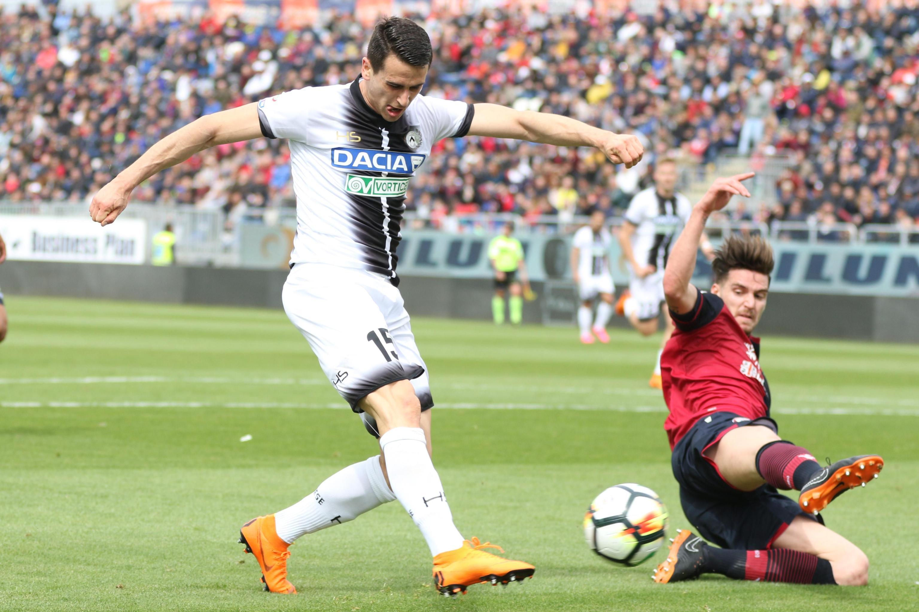 Serie A: il Cagliari sorride, Udinese in caduta libera